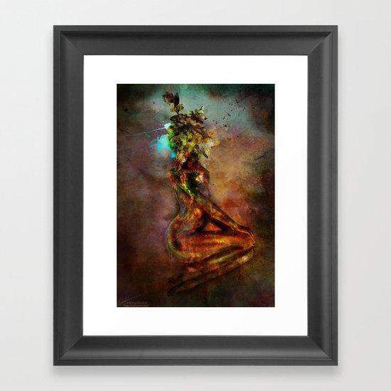 Saroja Framed Art Print