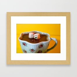 Hot Date Framed Art Print