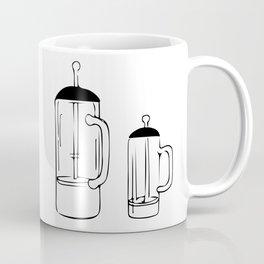 Coffee Tools: French press Coffee Mug