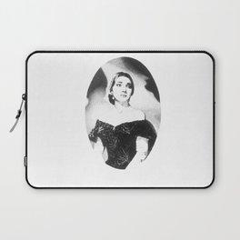 Maria Callas Laptop Sleeve