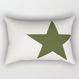 Vintage U.S. Military Star Rectangular Pillow