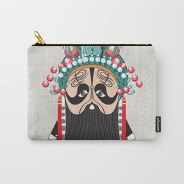 Beijing Opera Character XiangYu Carry-All Pouch