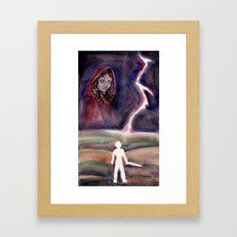 The Great Minimum Framed Art Print