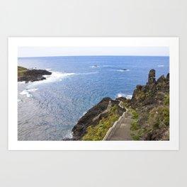 Tenerife Art Print
