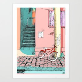 Hometown Art Print
