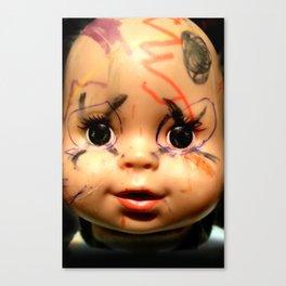 Punk Baby Canvas Print