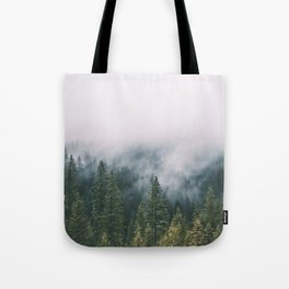 Forest Fog XI Tote Bag