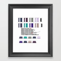 New account-32 Framed Art Print