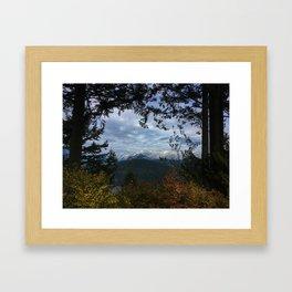 That view Framed Art Print