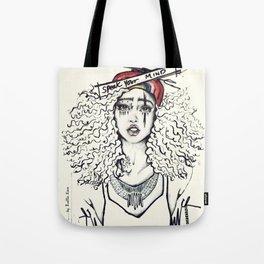 #STUKGIRL SKY Tote Bag