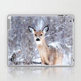 Deer In Snow Laptop & iPad Skin