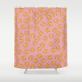 Yellow Labs! Shower Curtain