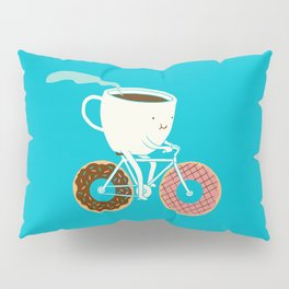 Coffee and Donuts Pillow Sham