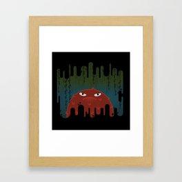 Cave Grump Framed Art Print