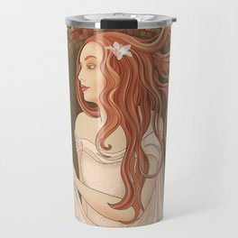 The Green Eyed Girl Travel Mug
