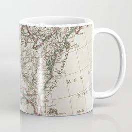 Vintage Map of North America (1795) Coffee Mug
