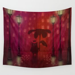 Shadow Tales: February Wall Tapestry