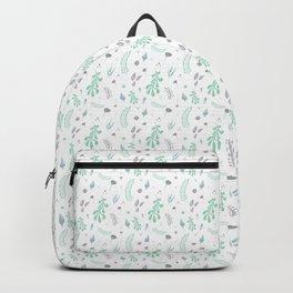 Bluish Leaves Backpack