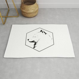 Canine Republic : Samoyed Rug