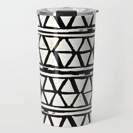 Tribal Geometric Band Travel Mug