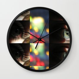 Life through someone else's eyes. Wall Clock