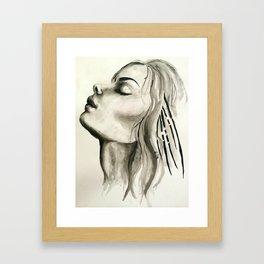 First Breath Framed Art Print