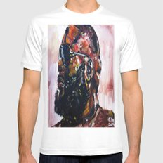 masterpiece for the #mastermind MEDIUM White Mens Fitted Tee