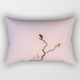 Lone 'Apapane Rectangular Pillow