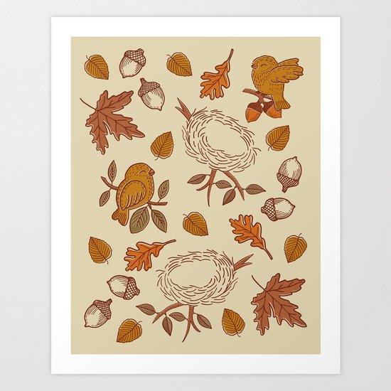 Fly Away Fall Art Print