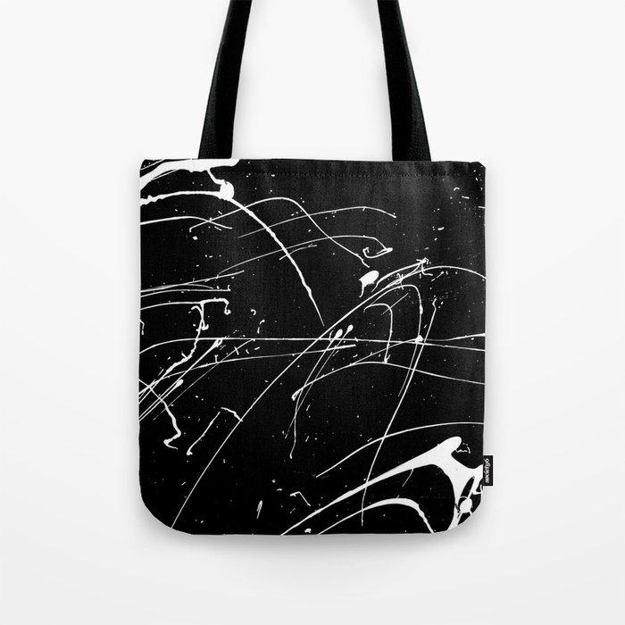 MONOCHROME SPLATTER #2 Tote Bag