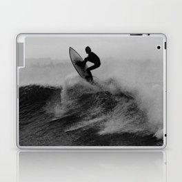 Surf black white Laptop & iPad Skin
