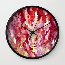 Hot Fun in the Summertime Wall Clock