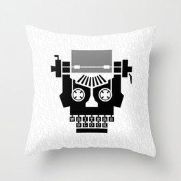Writer's Block II Throw Pillow