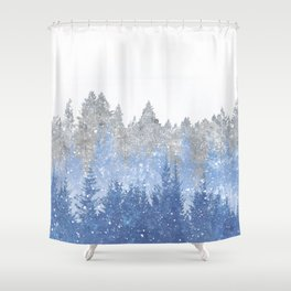 Study in Solitude Shower Curtain