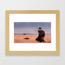 Desert Bound - Better Call Saul Framed Art Print
