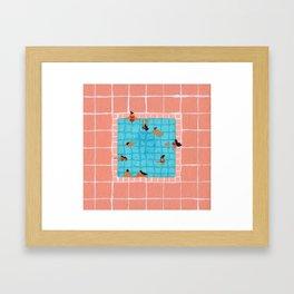 Little Pool Framed Art Print