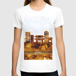 Kyoto Japan Skyline T-shirt