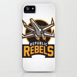 Republic Rebels iPhone Case