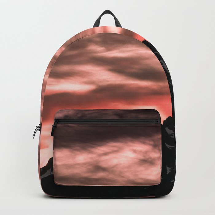 Early Morning Mountains Backpack