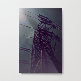 Mad Science Metal Print