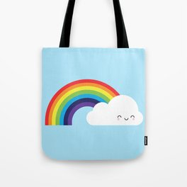 Kawaii Rainbow Tote Bag