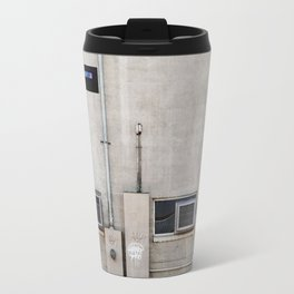 Back Alley Abstract De Sijl Travel Mug