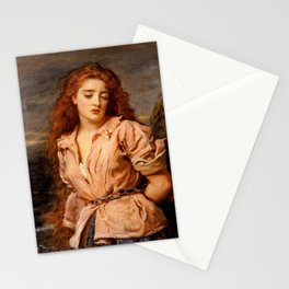 """John Everett Millais """"The Martyr of the Solway"""" Stationery Cards"""