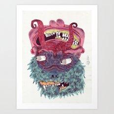 UNITED COLORS Art Print