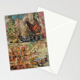 Simplify Stationery Cards