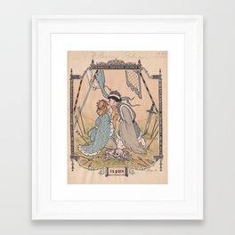 La Paix Framed Art Print