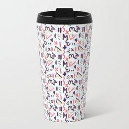 Horrible Patterns ~ Squared 80s Travel Mug