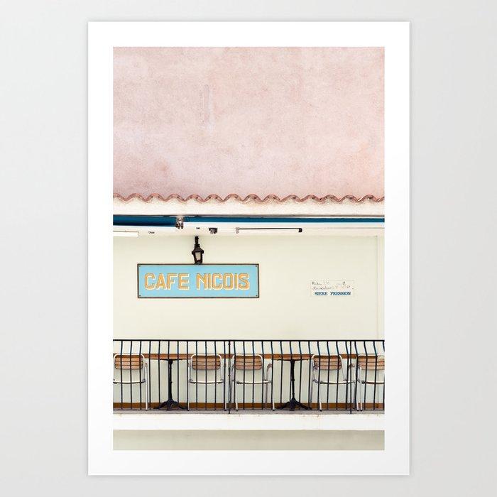 Café Nicois Art Print