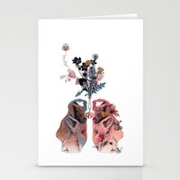 lungs Stationery Cards featuring Lungs by La Scarlatte
