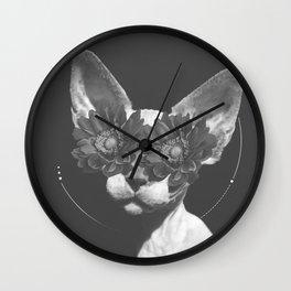 Egyptian Cat Wall Clock